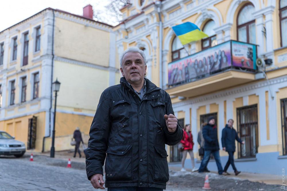 Директор по проектной работе «Лайтек» Александр Рябенко во время строительства Театра на Подоле был главным инженером проекта