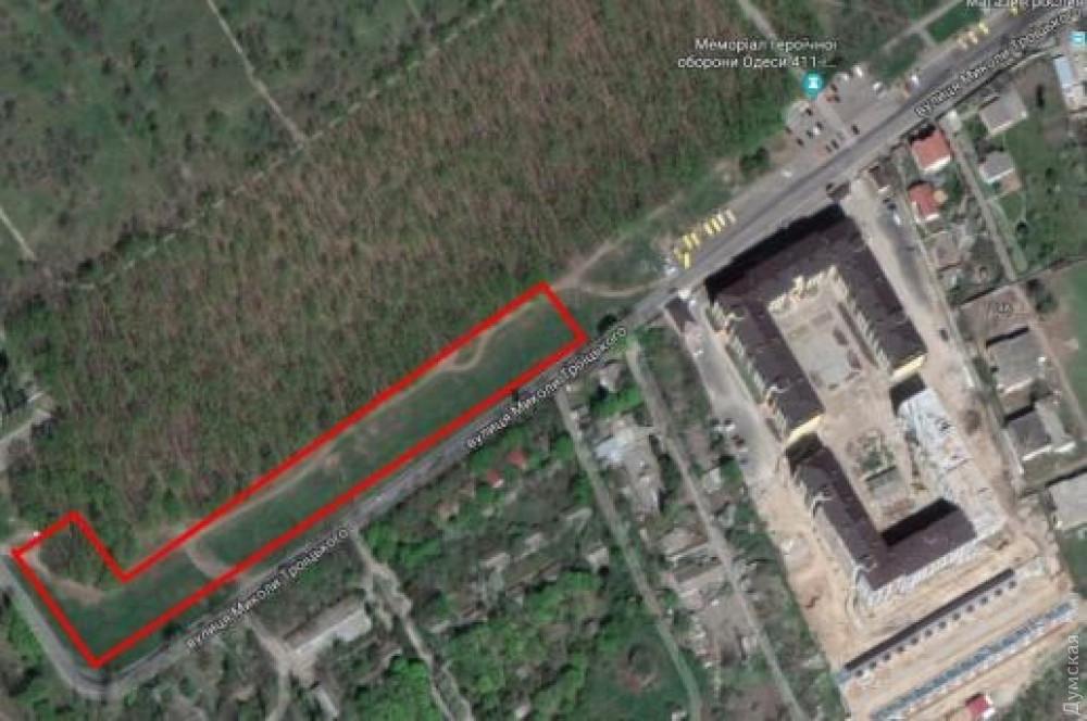 В Одессе незаконно пытаются продать часть парка 411-й батареи - 1