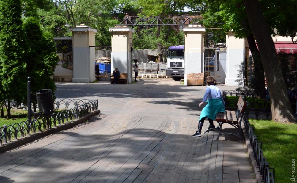 Аллеи Горсада обещают отремонтировать в последних числах мая