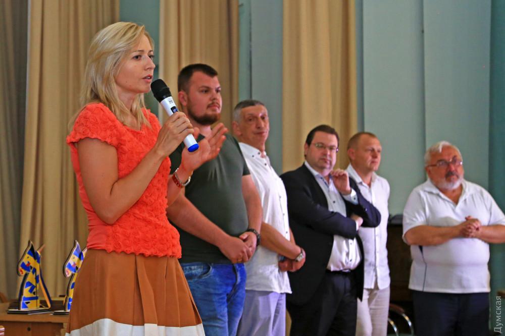 Олимпийская чемпионка по шахматам, одесситка Наталья Жукова