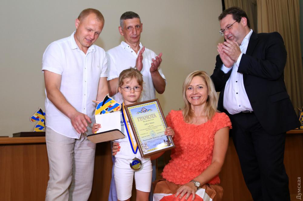 Юная участница из Одесской области Наталия Мовчан