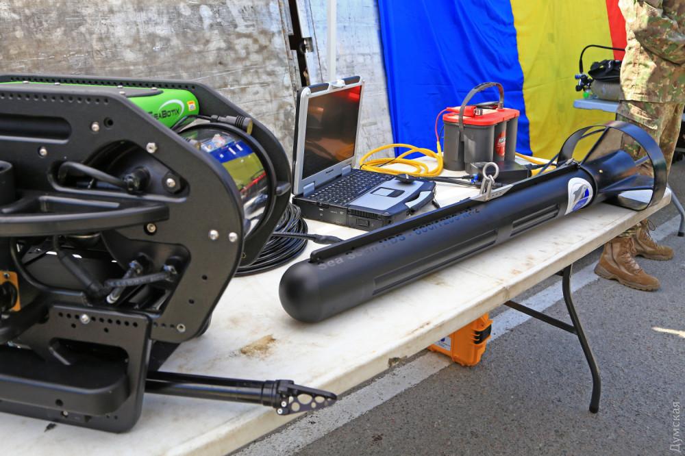 Британский сонар для поиска подводных лодок