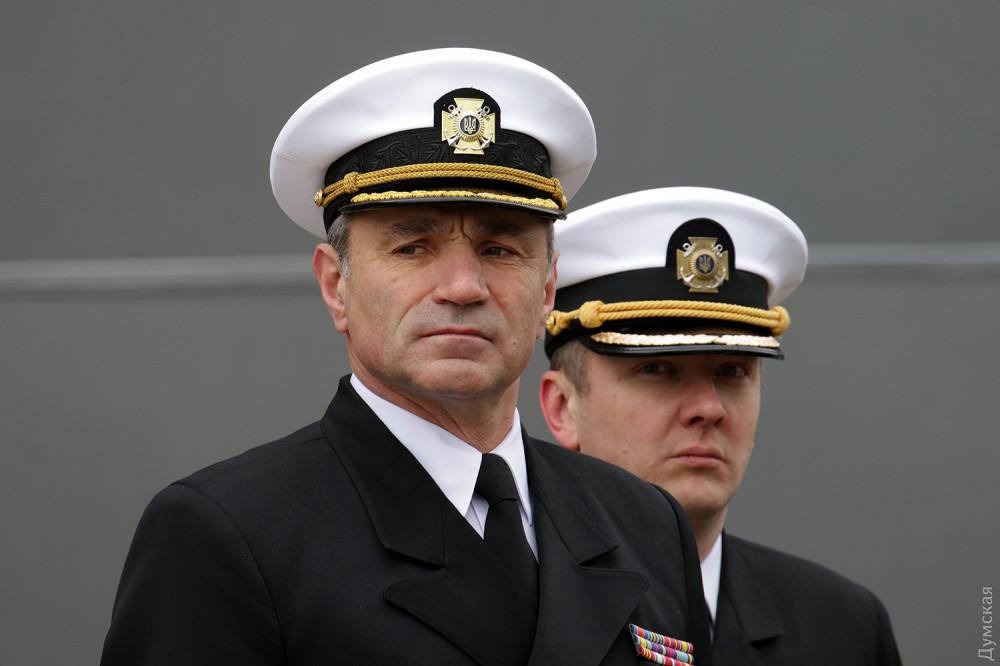 Командующий ВМСУ адмирал Игорь Воронченко