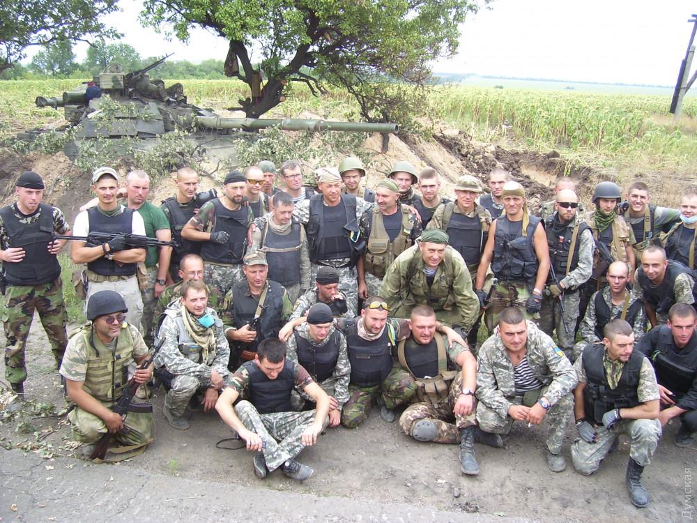 Наскоро сформированный, наспех вооруженный, оказавшийся на самом передке батальон одесской милиции — так выглядели защитники Украины летом 2014 года
