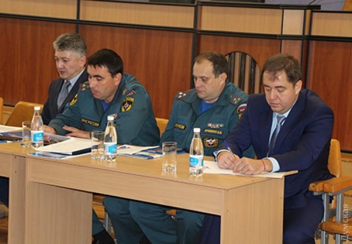 Владимир Боделан с новыми коллегами