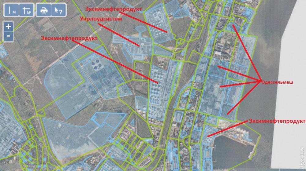 Нефтегавань Одесского порта