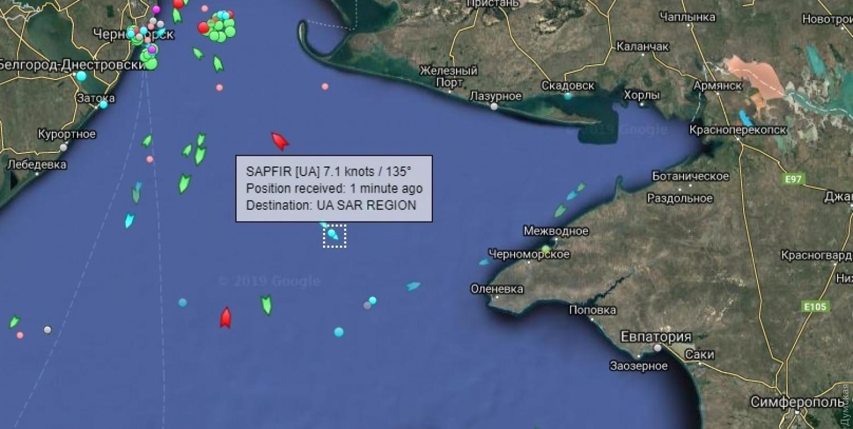 МИД РФ опроверг информацию о возвращении Киеву кораблей, задержанных в Керченском проливе