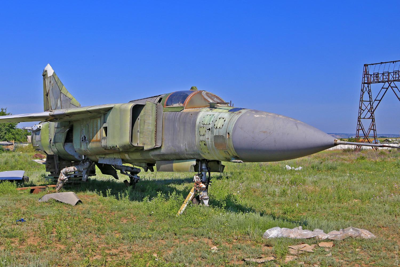 МиГ-23МЛ мог менять стреловидность крыла
