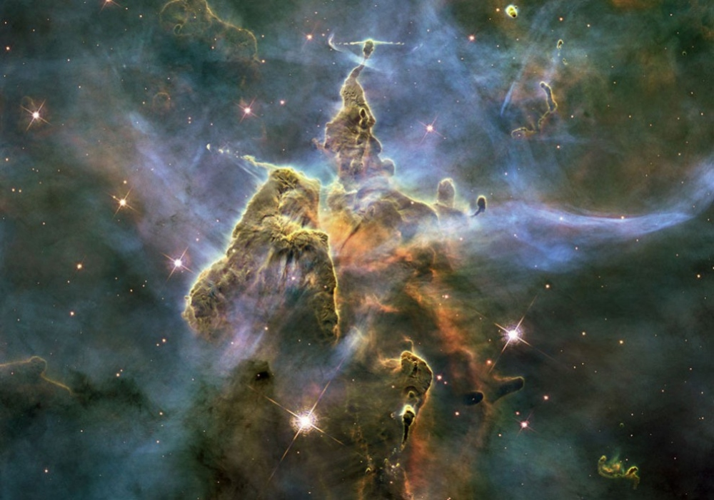 Таинственный космос картинки сделать