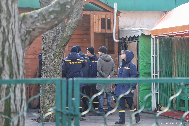 Пожар в Одессе: сгорело два аттракциона - 7
