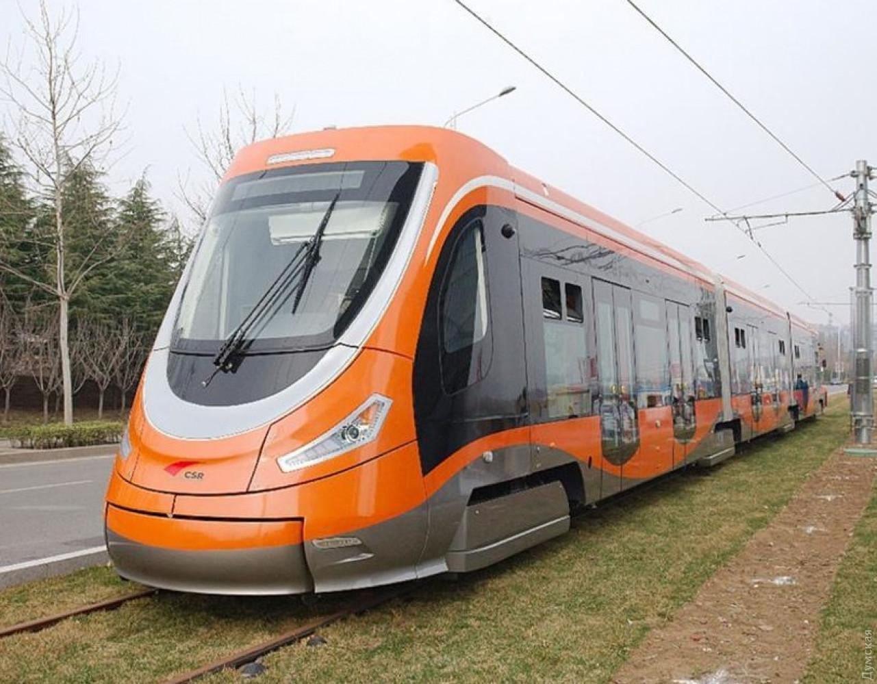 Трамвай китайской CRRC