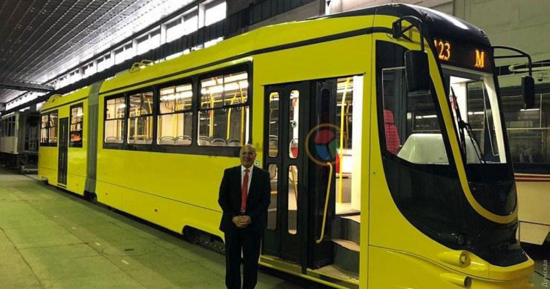 """Трамвай """"Татра-Юг"""", изготовленный для Египта"""