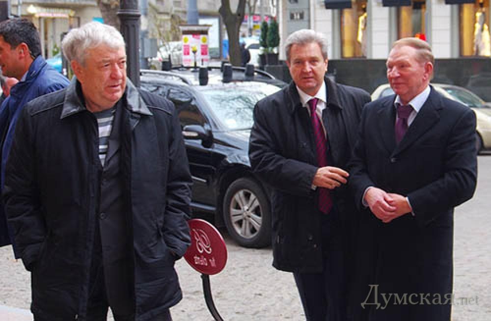 Боделан отметил юбилей в «Бристоле» с Лучинским и Кучмой | Новости Одессы