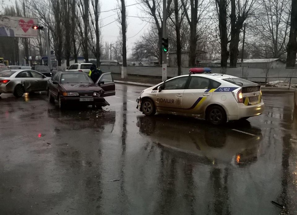 Максим попала в аварию