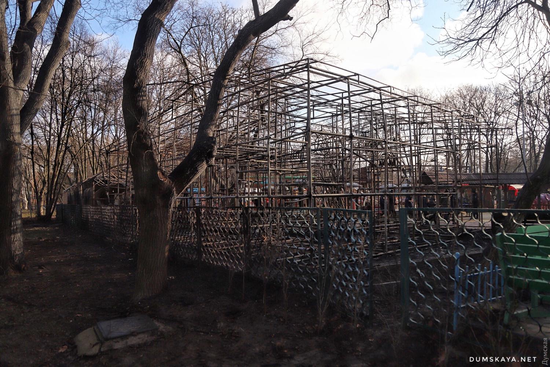 Пожар в Одессе: сгорело два аттракциона - 5