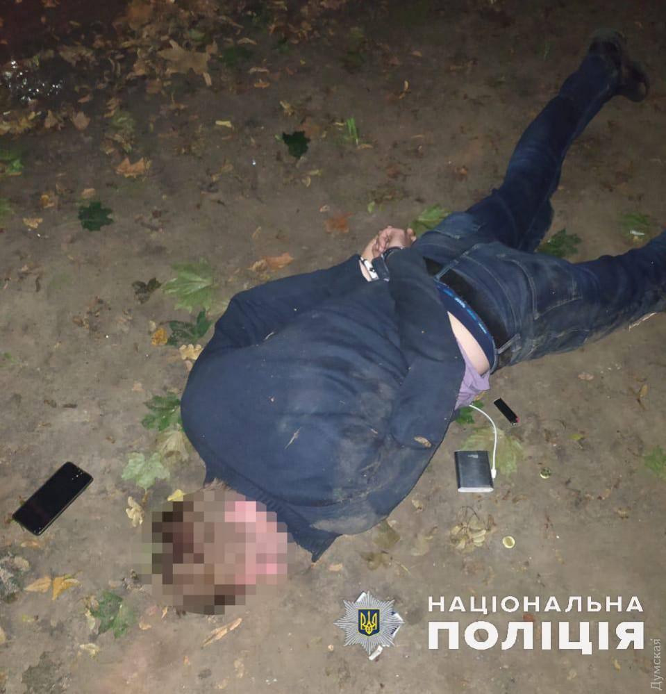 В Одессе задержали мужчину, который угрожал подорвать себя вместе с детьми