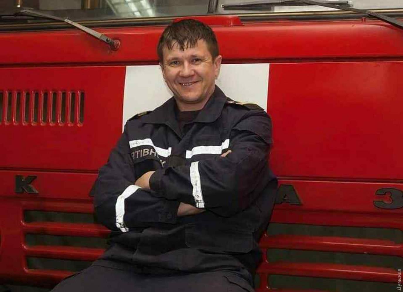 Умер спасатель, получивший травмы при эвакуации людей из горящего здания в Одессе, - глава ОГА Куцый - Цензор.НЕТ 7336