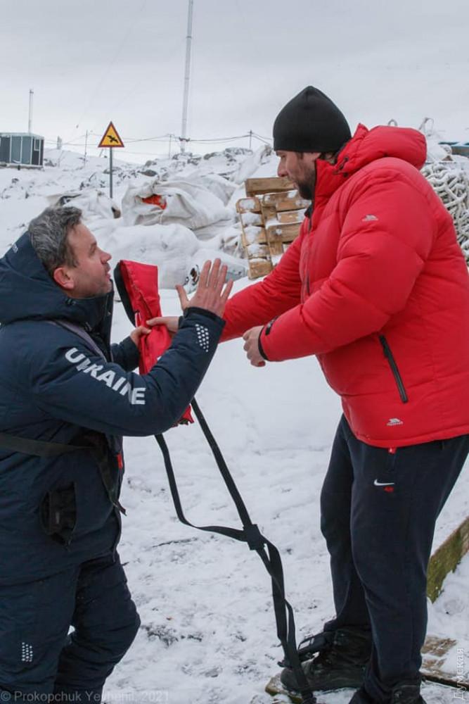 На Антарктиду прибыла сезонная экспедиция украинских полярников
