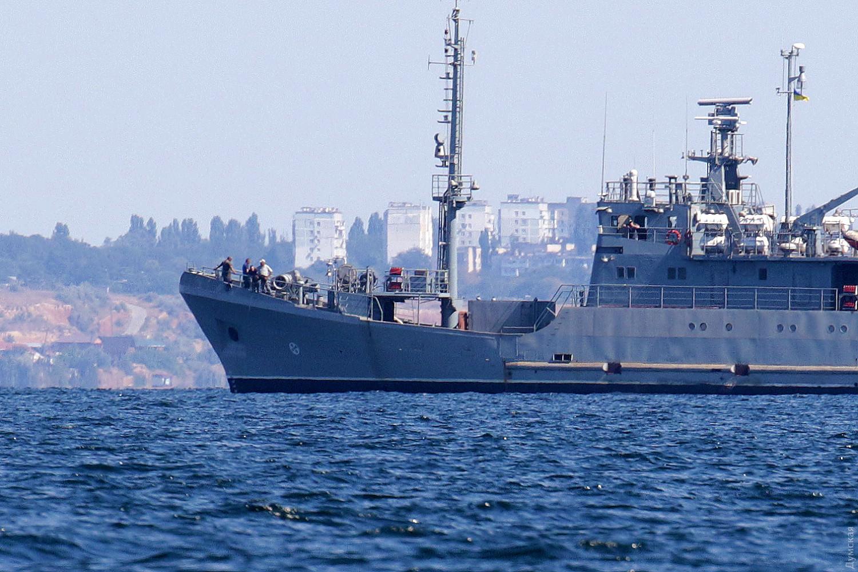 Испытательный выход в море 28 августа 2020 года. Фото Сергея Смоленцева